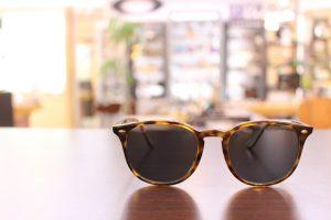TALEX偏光レンズでサングラスをカスタマイズ、素敵なサングラスが仕上がりました