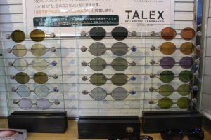 メガネのヤマウチで高機能偏光レンズTALEXの体験してみませんか??