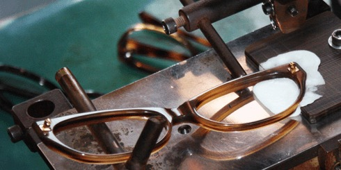 メガネ制作1