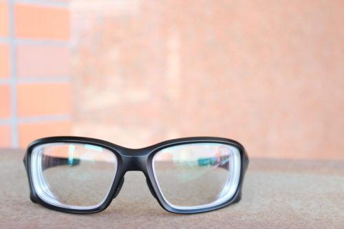 お客様ご注文品 OAKLEY STRAIGHTLINK 純正度付きメガネのご紹介